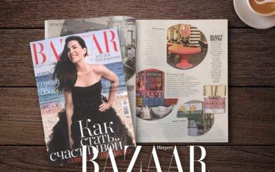 Beauty Bistro в октябрьском номере Harper's Bazaar